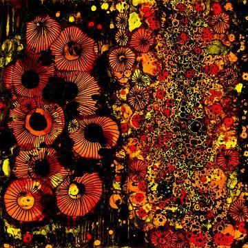 Blumenbeete 3 von Agnieszka Zietek