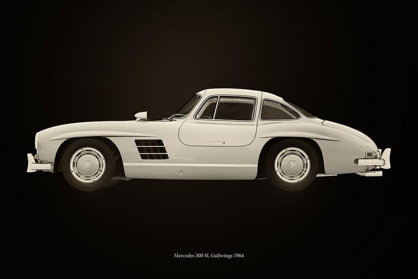 Mercedes 300 SL van Jan Keteleer