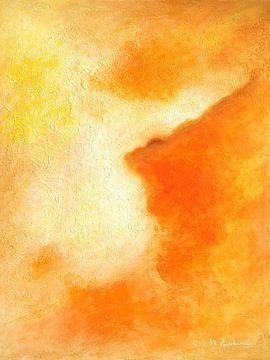 Orange Farbe der Freude von Marita Zacharias