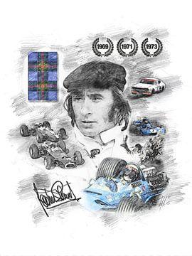 Jackie Stewart von Theodor Decker