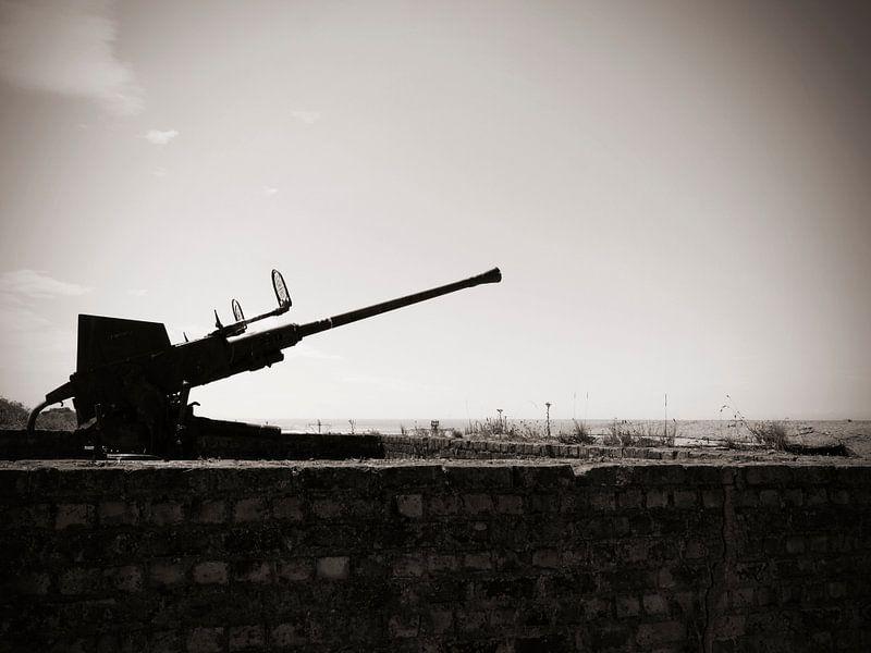 "Atlantikwall 4 cm Flak 28 ""Bofors""  van Wilfred Roelofs"