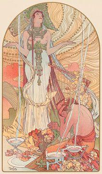 Beschwörungsformel (Salammbo), Alfons Mucha