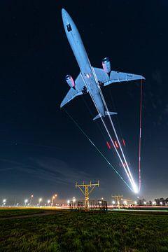 KLM Boeing 787 Dreamliner im Finale von Marc Hederik