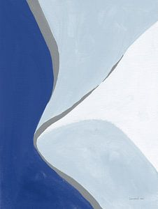 Retro Abstract III Blue, Danhui Nai