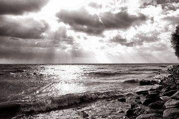Woeste zee van Bob Bleeker