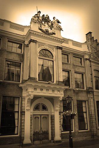 Alkmaar Noord-Holland Binnenstad Sepia Nederland