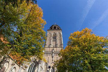 Toren van Lebuinuskerk in Deventer von Edo Koch