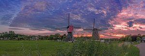 de molens van Oud Zuilen.