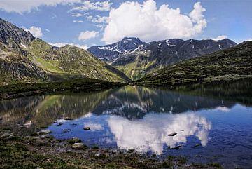 Bergmeer in Oostenrijk van Annie Snel