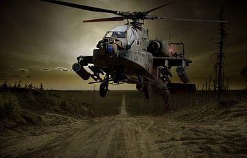 GevechtsHelicopter van