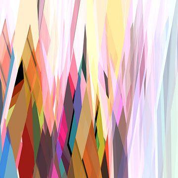 Abstracte samenstelling 727 van Angel Estevez
