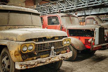 Camions de pompiers abandonnés sur Bjorn Renskers