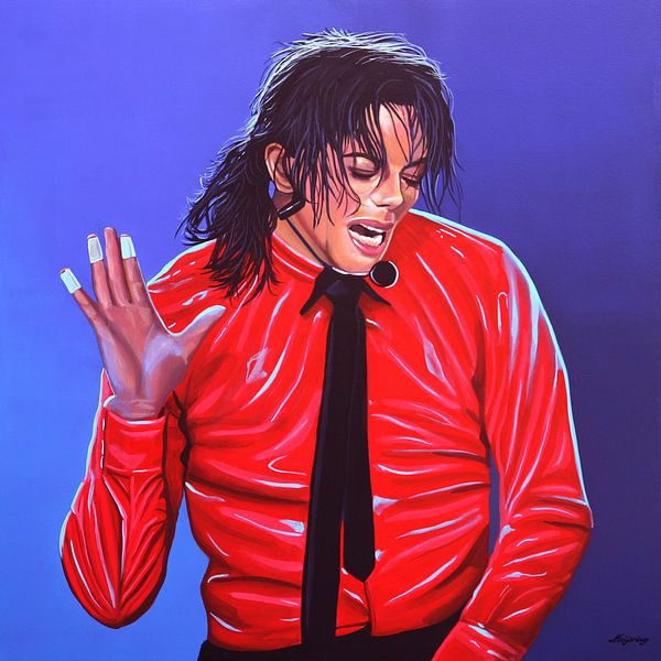 Michael Jackson 2 van Paul Meijering