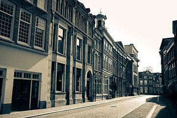 De groenmarkt in Dordrecht van
