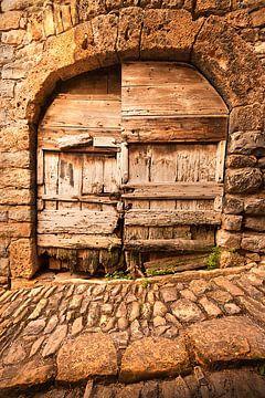 Oude deur van Halma Fotografie
