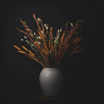 Bouquet de fleurs séchées sur Corinne Jansen-Vulders