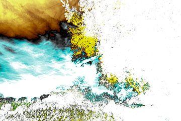 Gestörte Landschaft #008 von Peter Baak