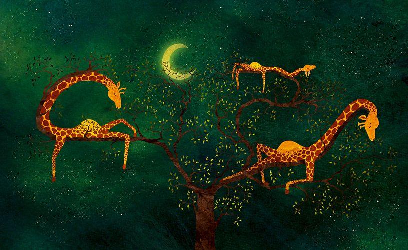 De giraffenboom van Atelier van Saskia