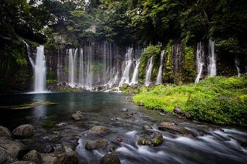 Shiraito watervallen van Marcel Alsemgeest