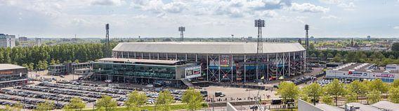 Stadion Feyenoord / De Kuip Kampioenswedstrijd (panorama)