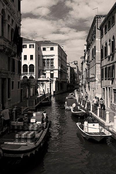 De waterwegen van Venetie