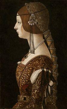 Bianca Maria Sforza,  Giovanni Ambrogio de Predis - ca. 1493