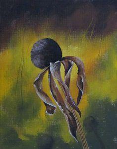 """Impressionistisch schilderij """"Echinacea"""""""