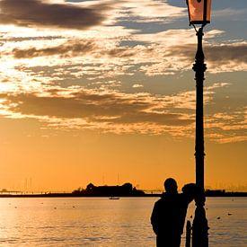 Abendstimmung über Venedig von Andreas Müller