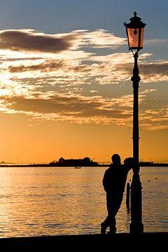 Abendstimmung über Venedig