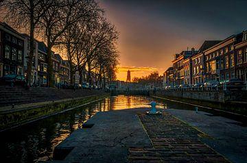 Weerdsluis op de koude winterochtend. van Robin Pics (verliefd op Utrecht)