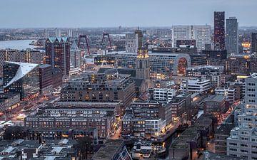 Dutch architecture city of Rotterdam sur