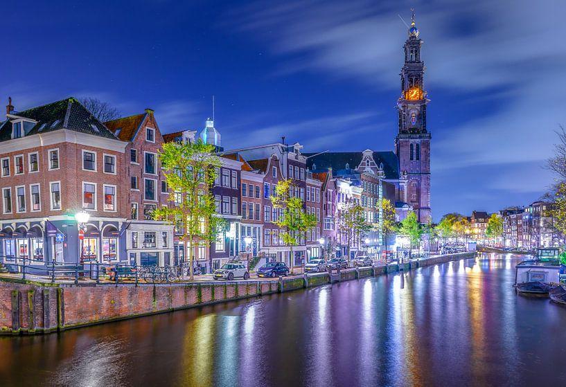 Westertoren Amsterdam van Dennis Donders