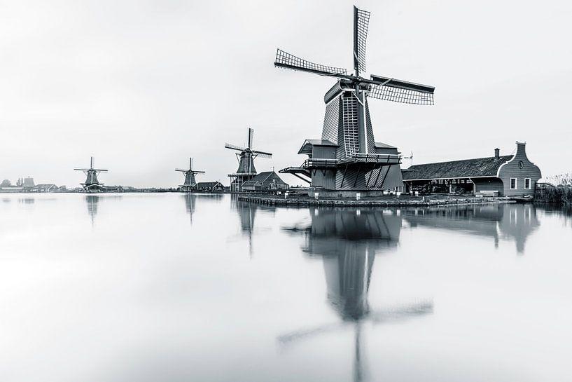 Zaanse Schans van Martijn van der Nat