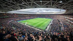 Kolkende Kuip tijdens Feyenoord-Ajax