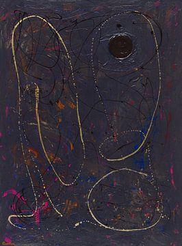 45 Sphere 1 The Deep Dark Unlimited Blue von ANTONIA PIA GORDON