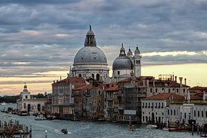 Canale Grande und Santa Maria della Salute-Kirche Venedig von arte factum berlin