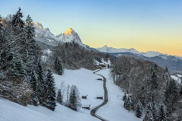 Wamberg in de winter van Michael Valjak