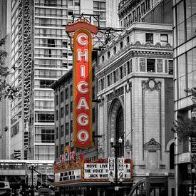 CHICAGO State Street von Melanie Viola