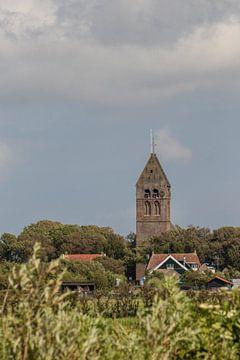 Toren van Hollum Ameland van Nicole Nagtegaal