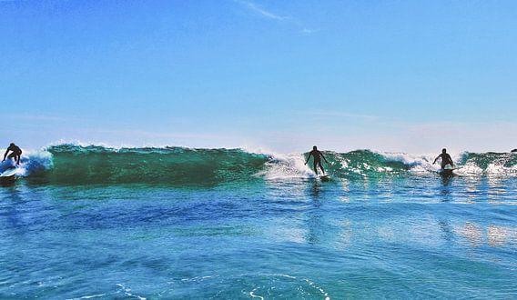 Samen één met de golven