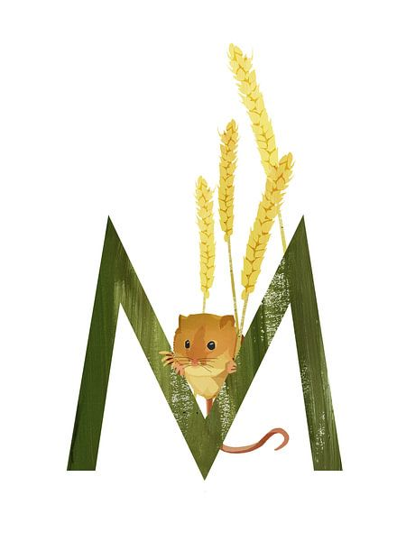 M - Maus von Goed Blauw