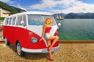 Urlaub am Gardasee 1959  von