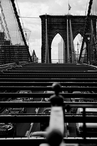 new york city ... brooklyn bridge IV van Meleah Fotografie