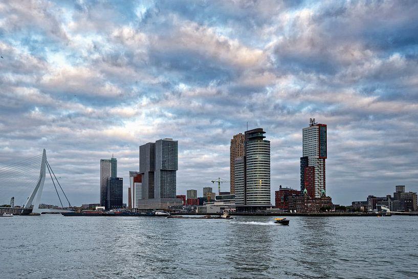 Rotterdam Skyline van Peter Bongers