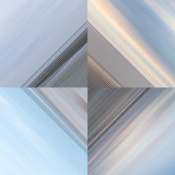 Diamond of sand, sea and sky van Irene Damminga