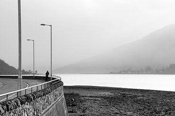 Op weg in Schotland van Herman van Ommen