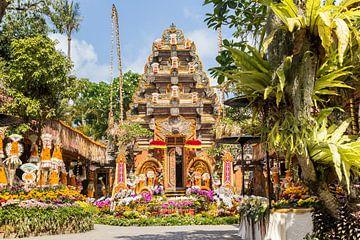 Tempel- und Palastgarten in Ubud, Bali von Marc Venema