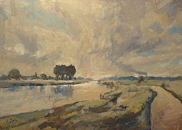 Rivier de Maas van Nop Briex