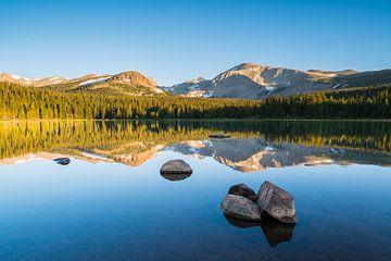 Spiegelung im Brainard Lake von Denis Feiner