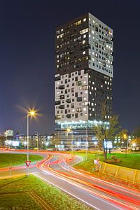 La Liberte nachtfoto te Groningen van